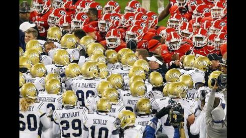 GT vs UGA Both