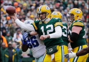 Rogers under pressure (NFL.com)
