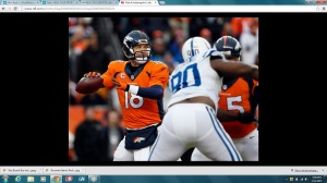 Peyton pushing it in 1st half (NFL.com)