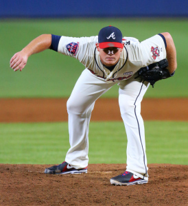 Craig Kimbrel was traded on the eve of Opening Day. (Curtis Compton/AJC photo)