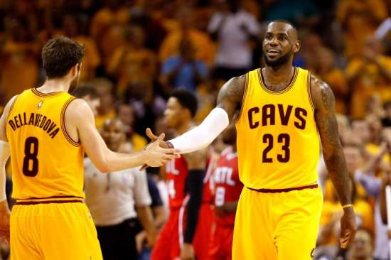 Lebron and Delly