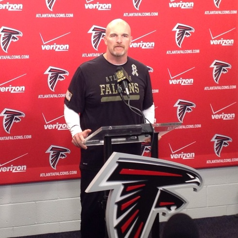 Dan Quinn Falcons Head Coach