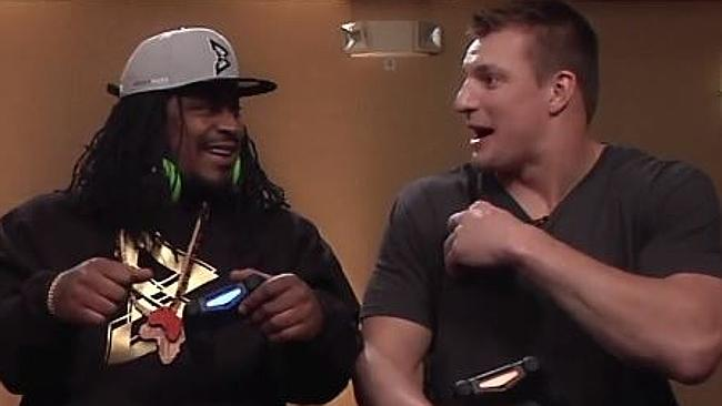 Beast Mode and Gronk